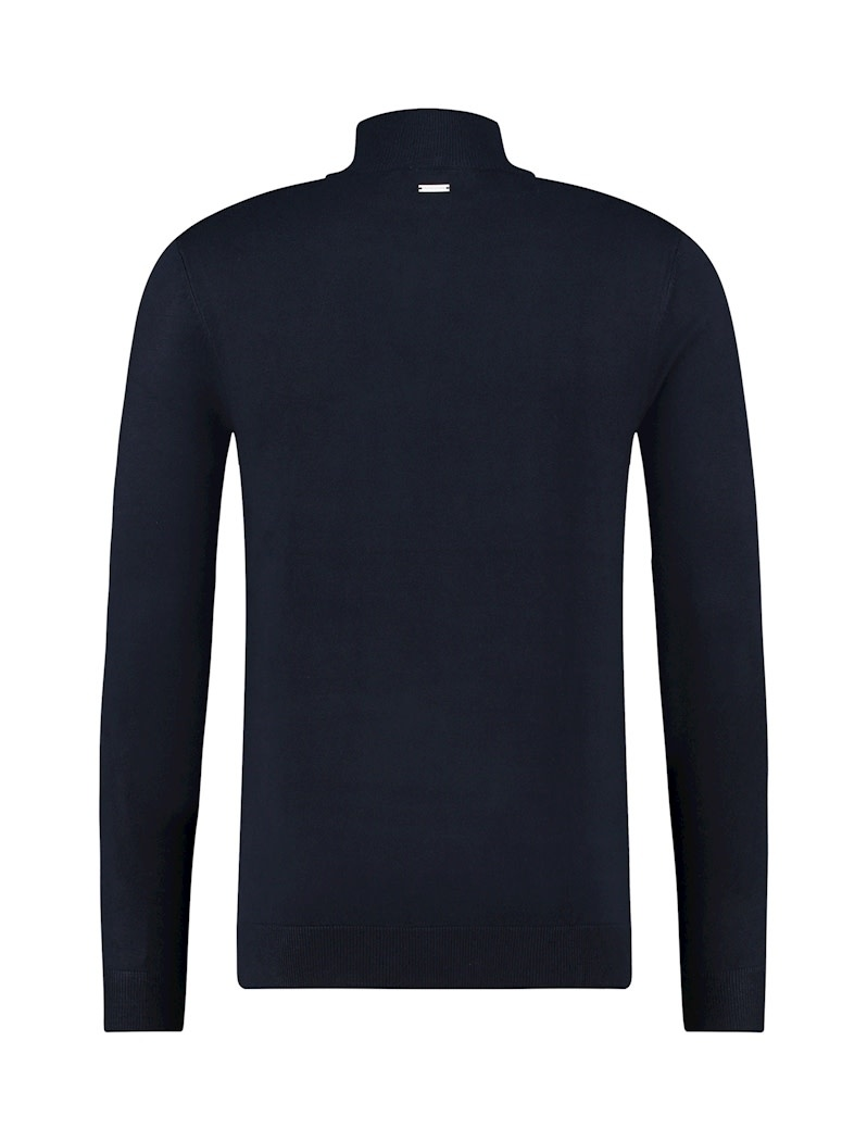 Purewhite Pure White Essential Mockneck Knit Navy