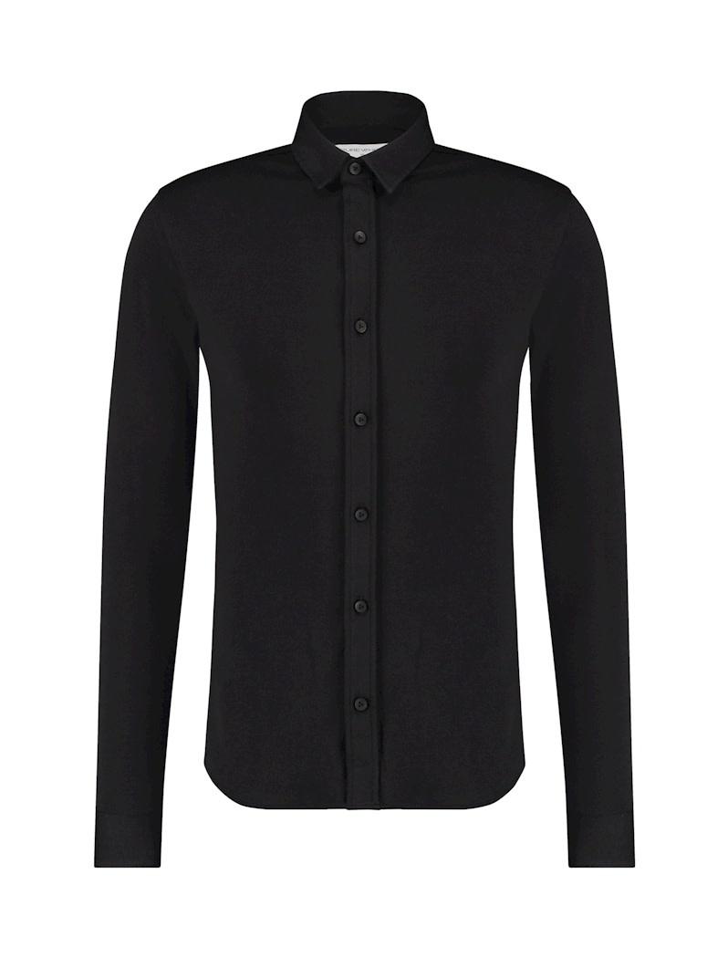 Pure White Pure White Essential Jersey Shirt Black