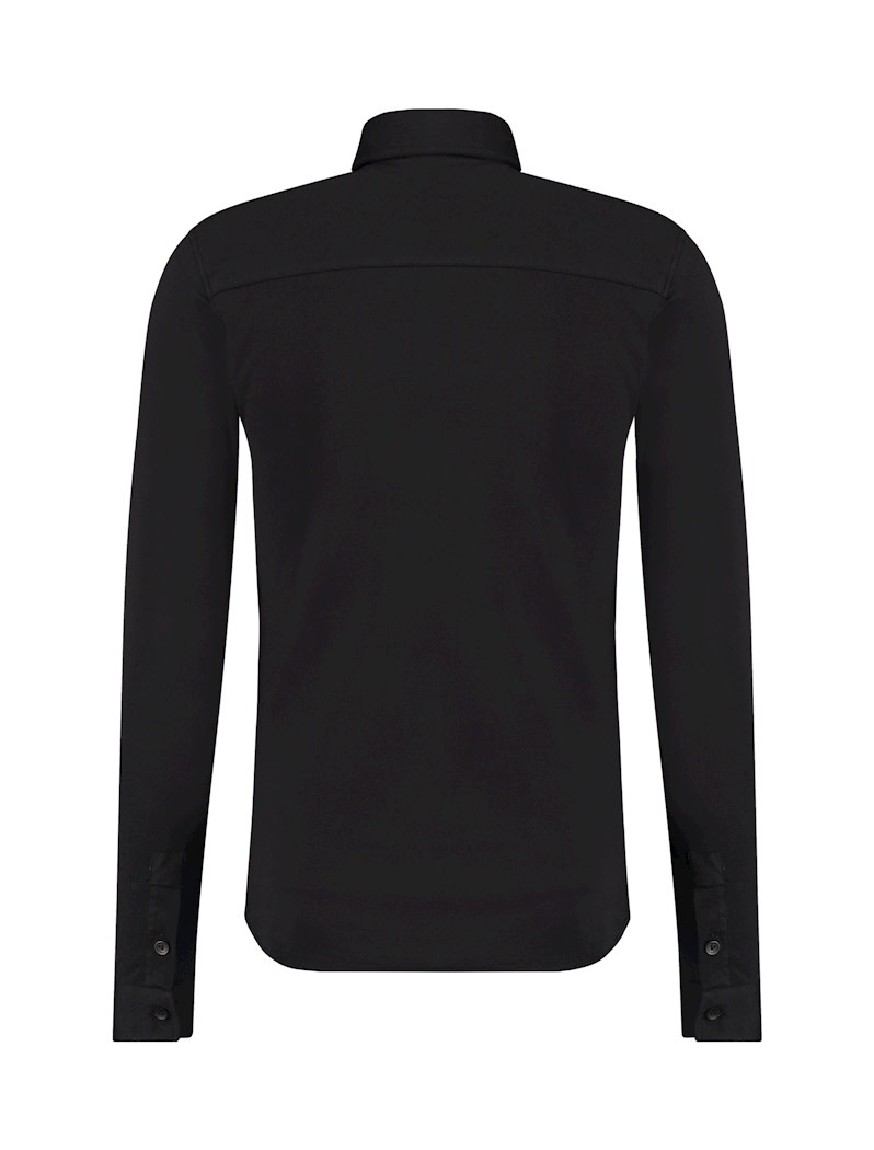 Pure White Pure White Essential Jersey Shirt Black