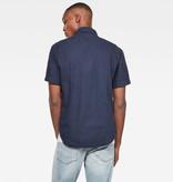 G-Star G-Star Arc 3D Slim S/S Shirt 7647-6067 Sartho Blue