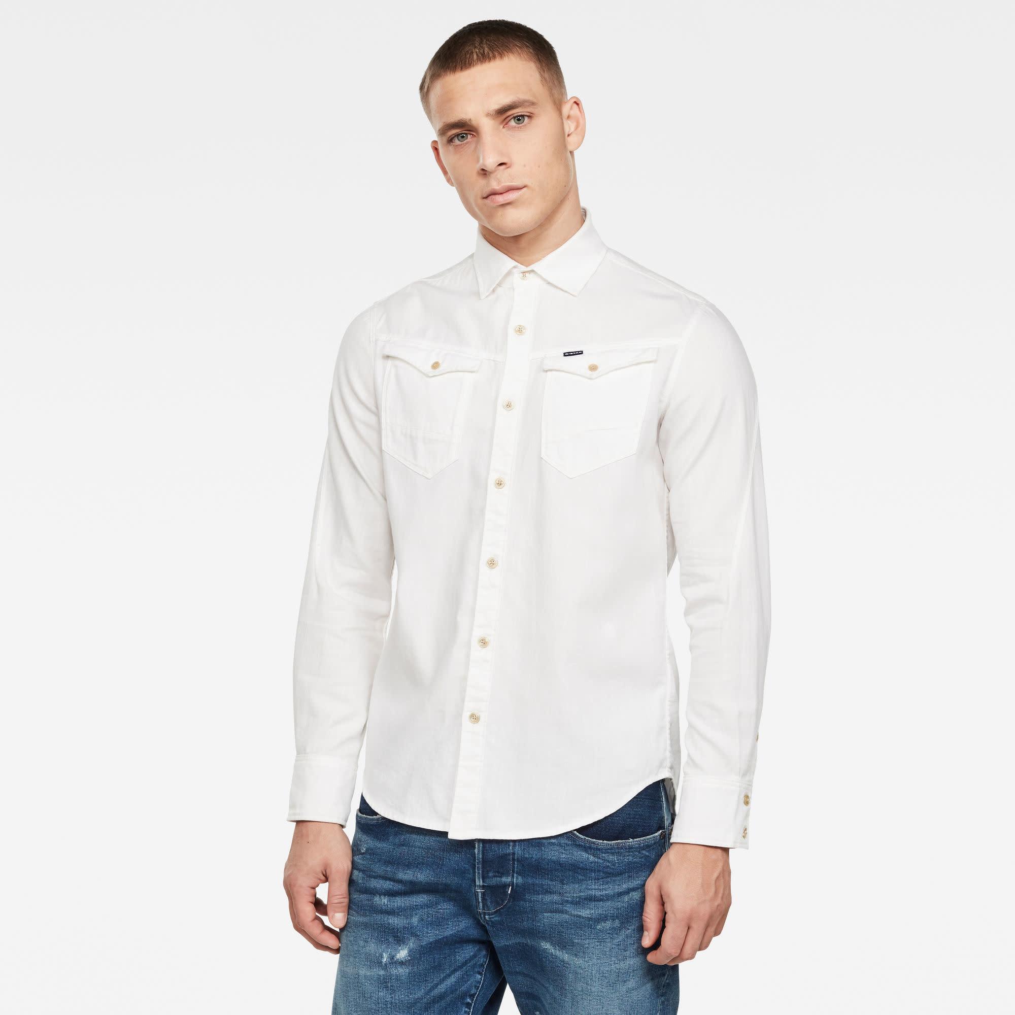 G-Star G-Star Arc 3D Slim Shirt D17431-5977-110 White