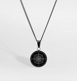 Northern Legacy Northern Legacy Compass Pendant Gungrey