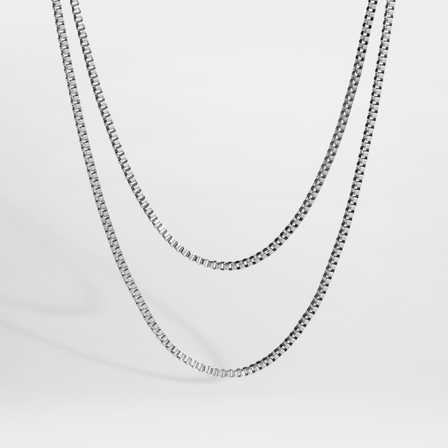 Northern Legacy Northern Legacy Double Chain Silver