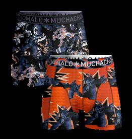 Muchachomalo Muchachomalo 2-Pack Boxershorts Gadgets Multicolor