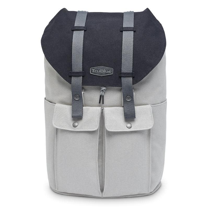 TruBlue TruBlue The Pioneer Backpack York Grey Mix