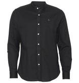Clean Cut Clean Cut Oxford Mao L/S Shirt Black