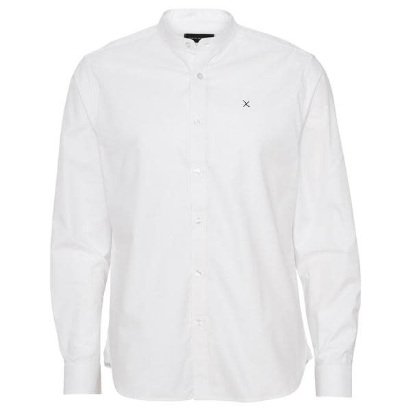 Clean Cut Clean Cut Oxford Mao L/S Shirt White