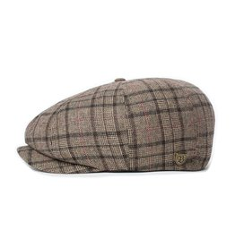Brixton Brixton Brood Lightweight Snap Cap Dark Brown