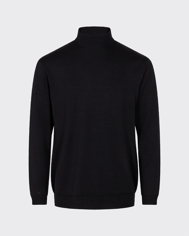 Minimum Minimum Aagaard 7365 Jumper Turtleneck Black