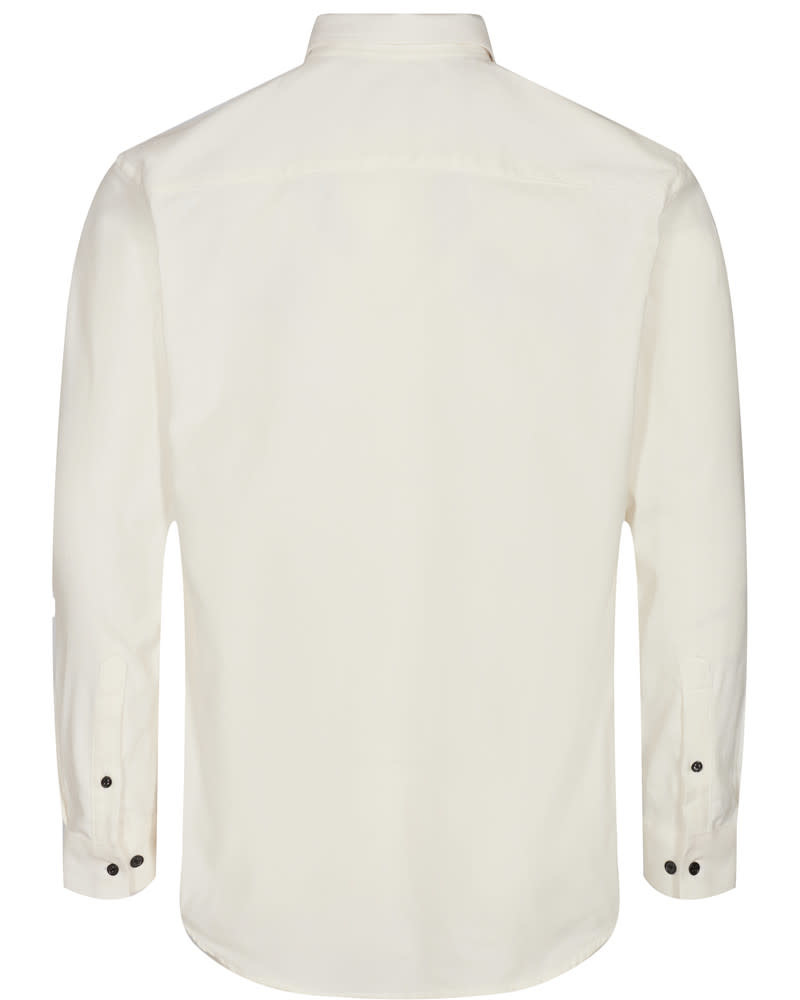 Anerkjendt Anerkjendt Akonrad Corduroy Shirt Tofu White