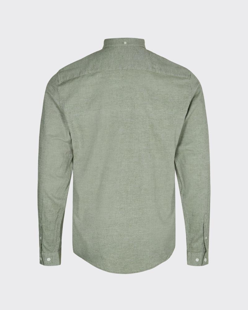 Minimum Minimum Jay 2.0 0063 Shirt Sea Spray Melange Green