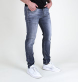 Fifty Four Fifty Four Rages JD98-Z55 Slim Fit Jeans Grey Washed