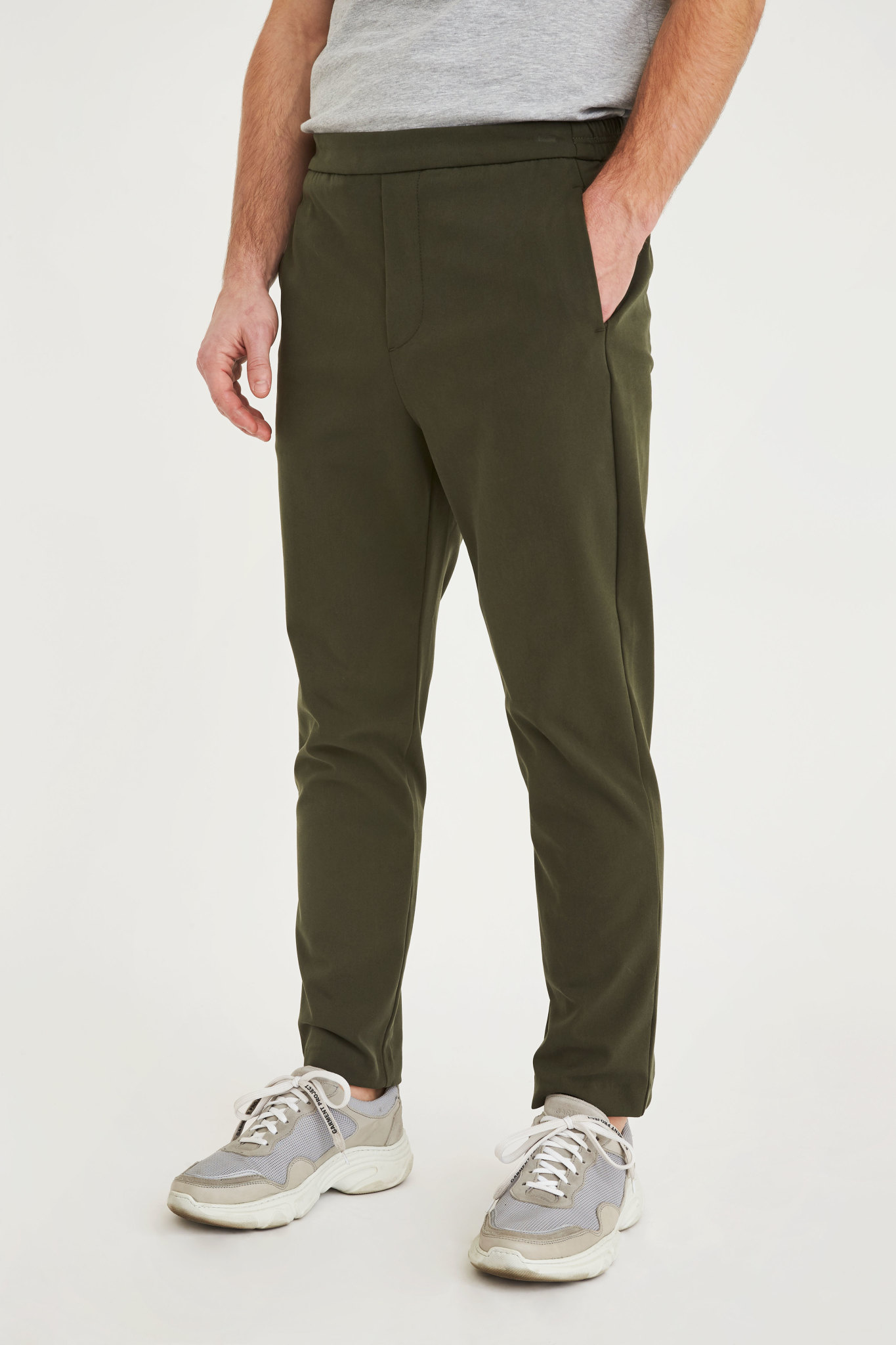 Plain Plain Riley 315 Pants Army Green