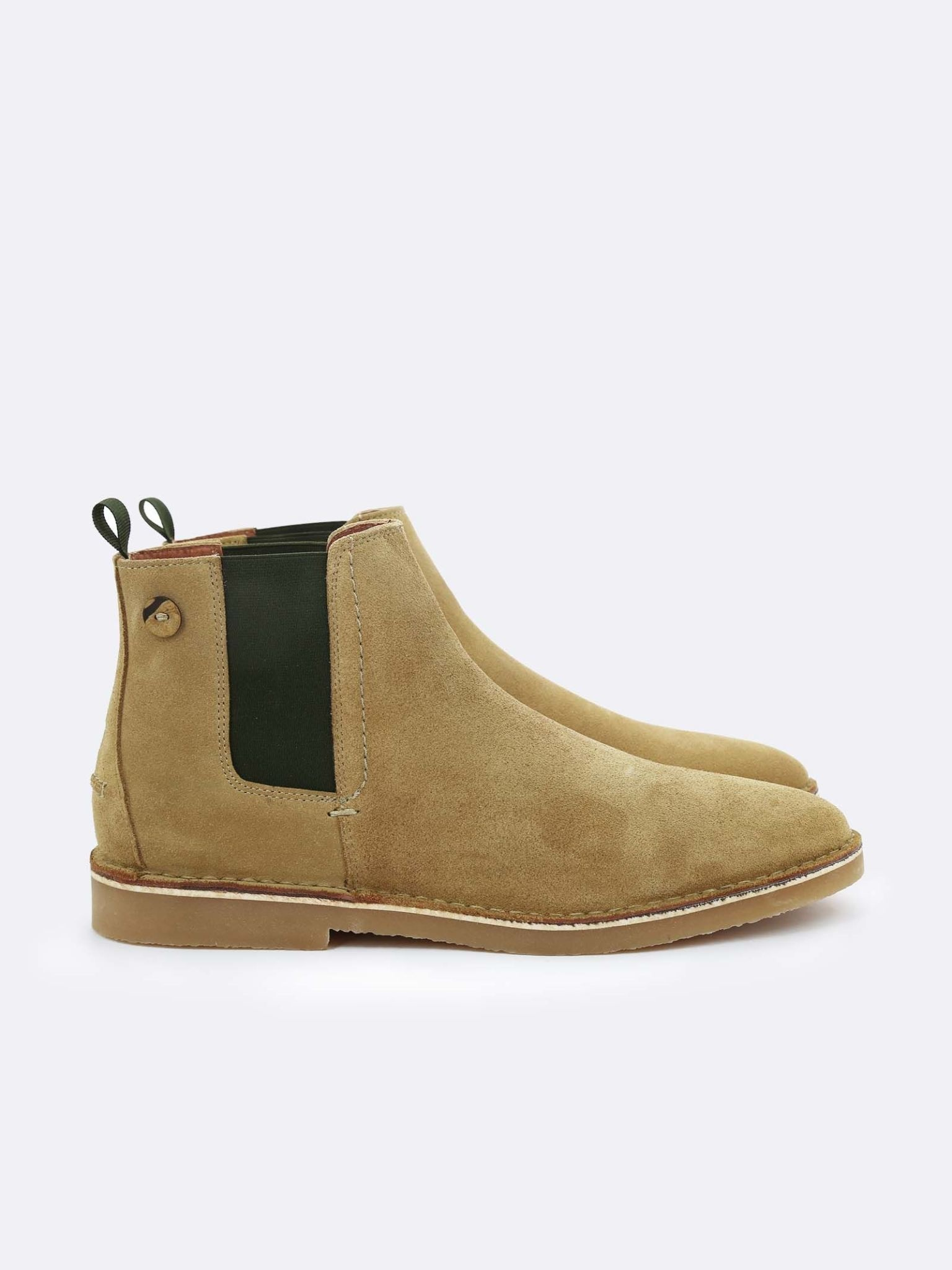 faguo Faguo Chelsea Boots Cork Suede Sand