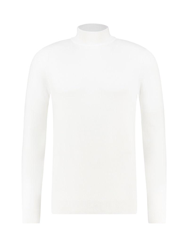 Purewhite Pure White Essential Mockneck Knit Off White