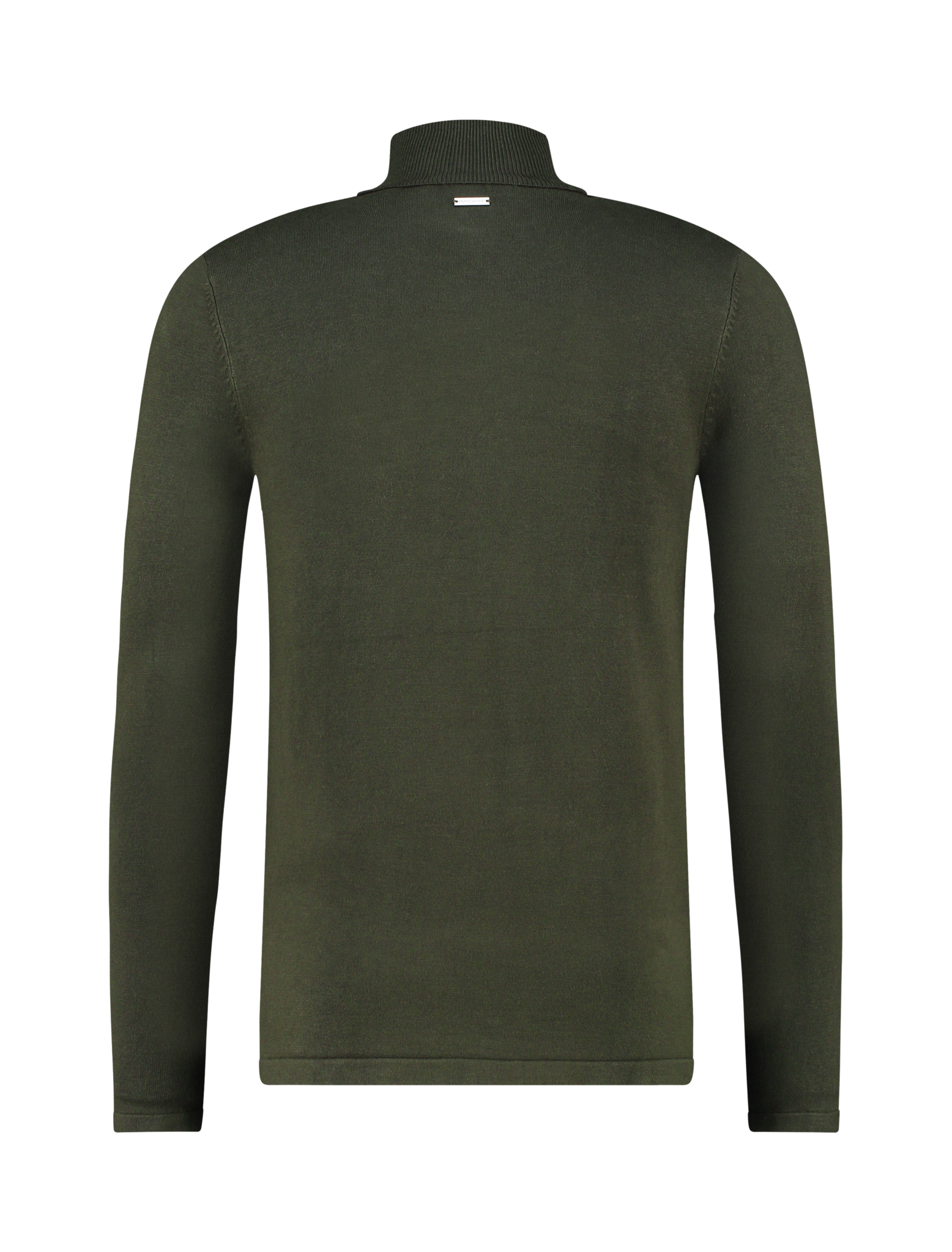Purewhite Pure White Essential Turtleneck Knit Army Green