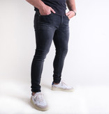 Fifty Four Fifty Four Clops J591 HM-1-ML Skinny Jeans Washed Black