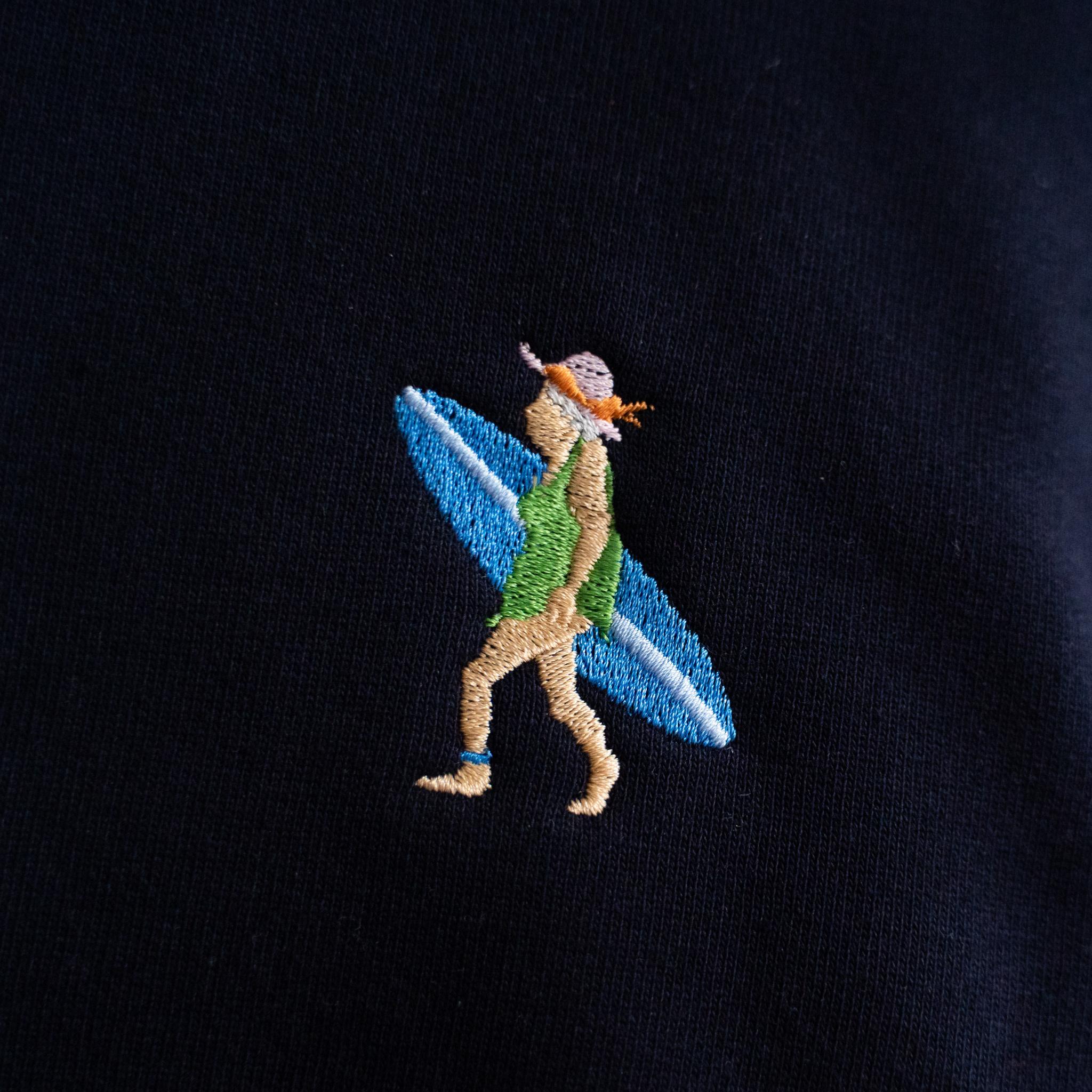 Stitch Amsterdam Stitch Amsterdam Surfing Grandma Sweat Navy