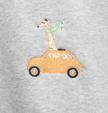 Stitch Amsterdam Stitch Amsterdam Giraffe in a Beetle Sweat Grey