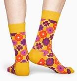 Happy Socks Happy Socks FLP-2500 Flower Power Sock Yellow