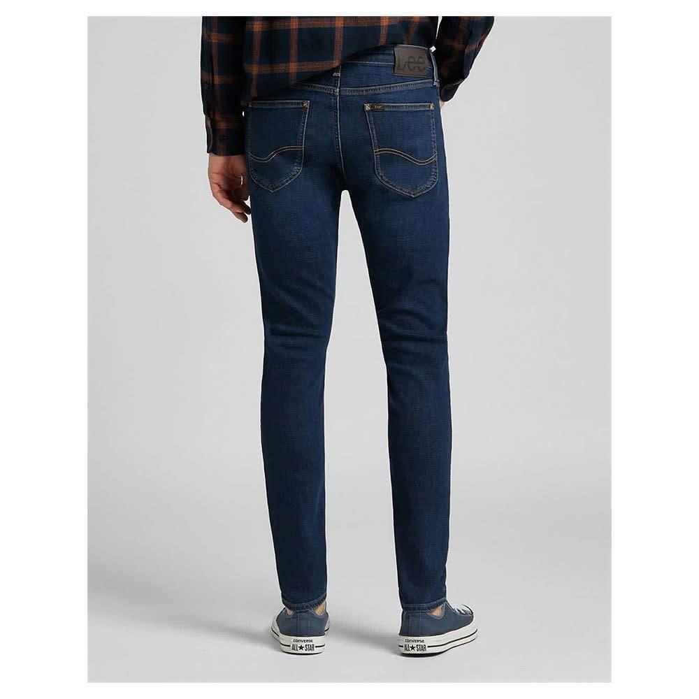 Lee Lee Malone Skinny Fit Jeans Dark Martha Blue