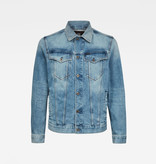 G-Star G-Star 3301 Slim Denim Jacket C052-C293 Sun Faded Stone Blue