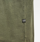 G-Star G-Star Lash R Relaxed Washed Tee Combat Green