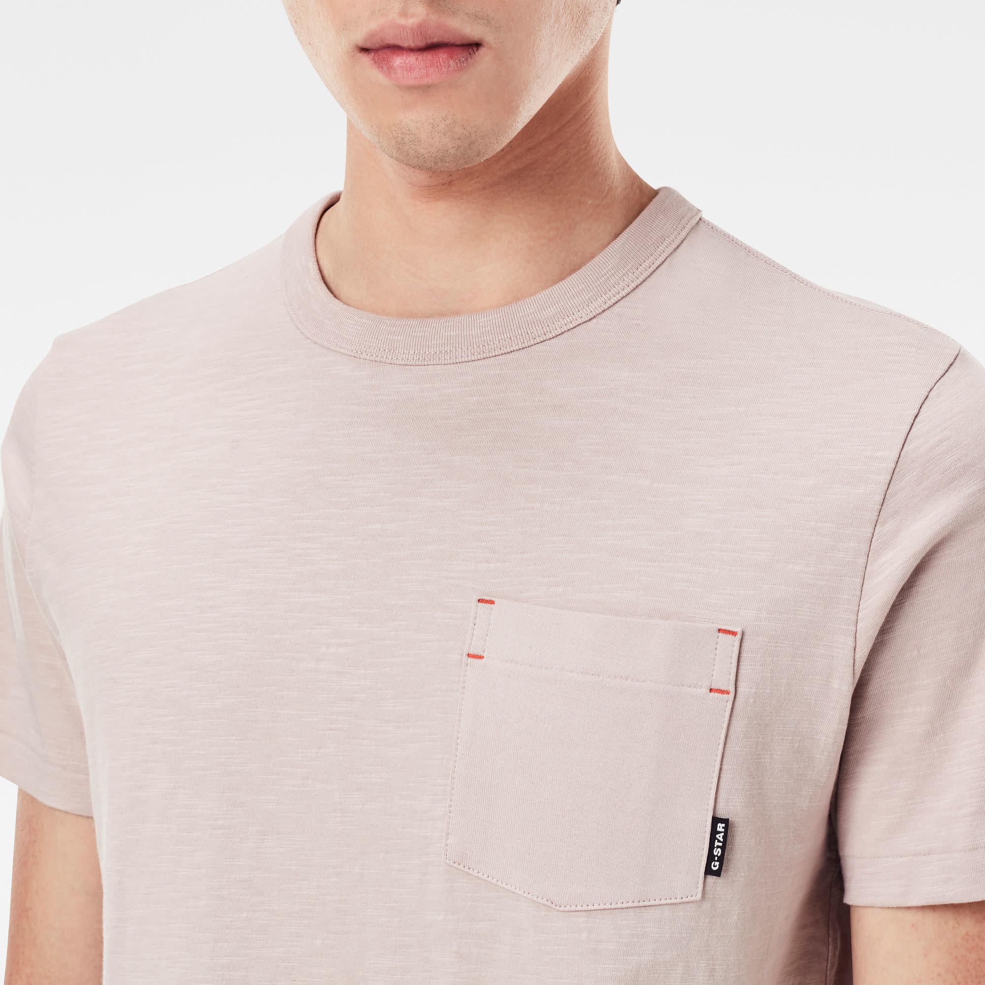 G-Star G-Star Contrast Mercerized Pocket R T Lox Pink