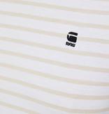 G-Star G-Star Korpaz Stripe R Tee White/Whitebait