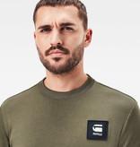 G-Star G-Star Box Logo Pocket Tweater Combat Green