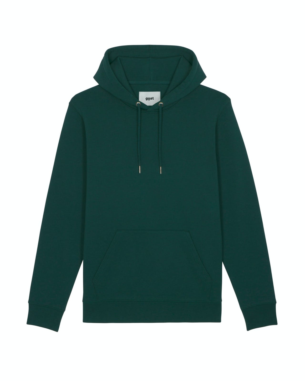 GOAT Apperal Avery Unisex Hooded Sweat Dark Green