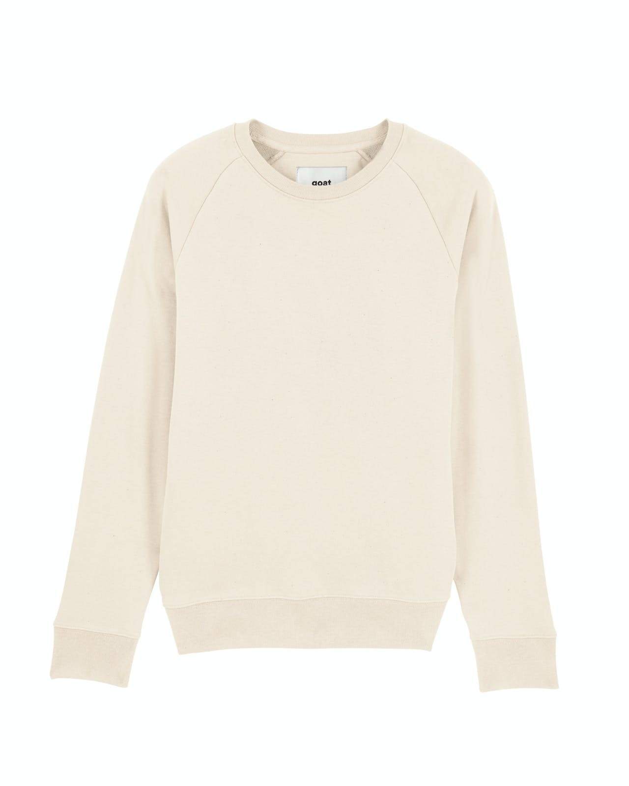 GOAT Apperal Max Unisex Crew Neck Sweat Natural