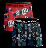 Muchachomalo 2-Pack shorts Money & Gamble Multi