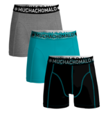 Muchachomalo SOLID1010-344 3-Pack Multi
