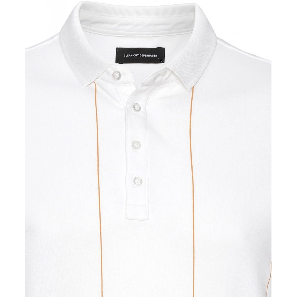 Clean Cut Clean Cut Tom Organic Polo White