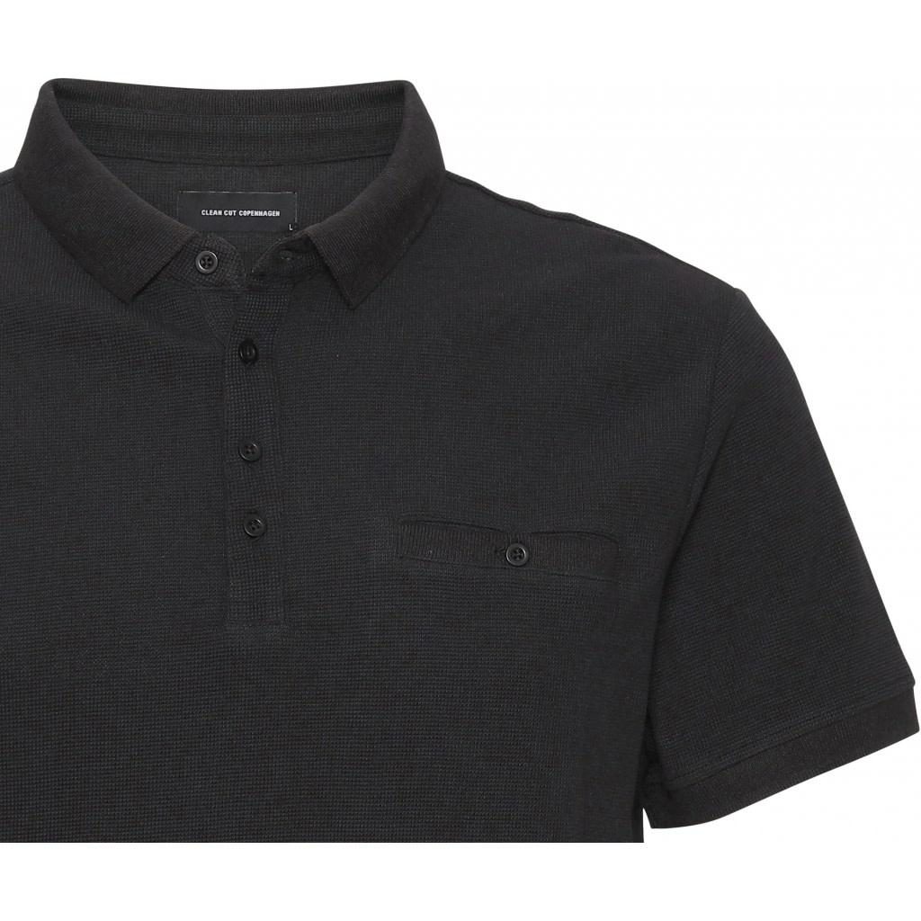 Clean Cut Clean Cut Soul Organic Polo Black