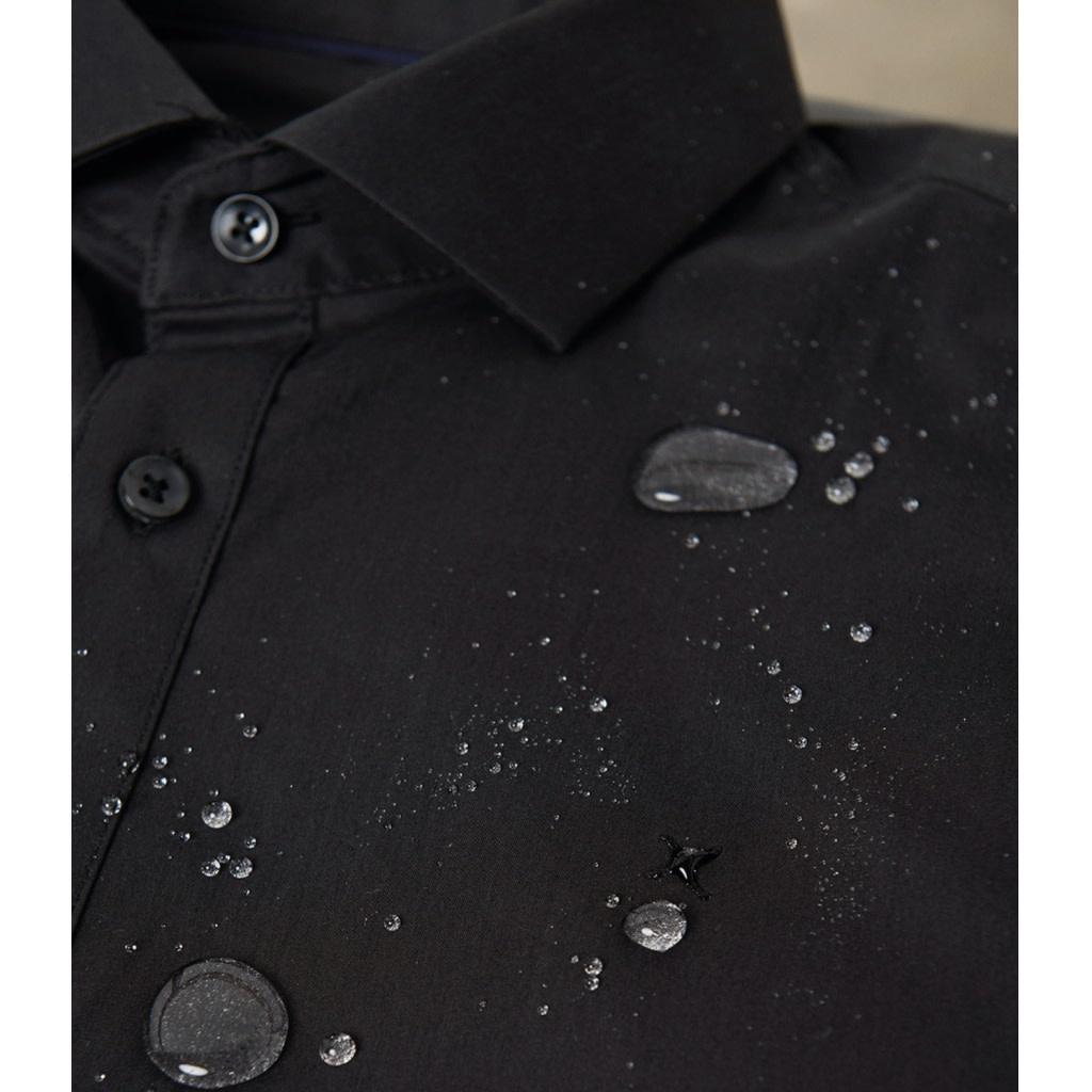 Clean Cut Clean Cut London Stretch Nano Shirt L/S Light Blue