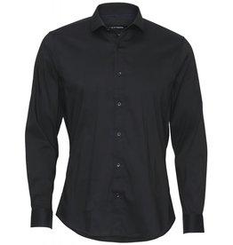 Clean Cut Clean Cut London Stretch Nano Shirt L/S Black
