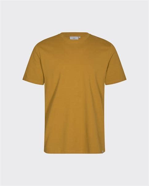 Minimum Minimum Sims Tee 2088 Dried Tobacco Yellow
