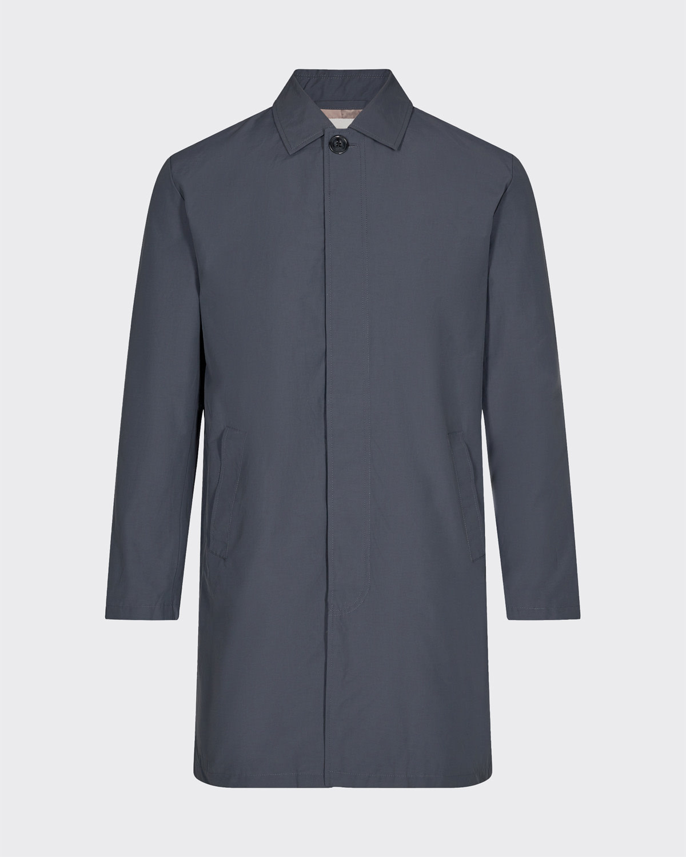 Minimum Minimum Hector Trench Coat Turbulence Blue