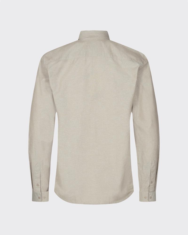 Minimum Minimum Walther 8009 Shirt Seneca Rock Brown