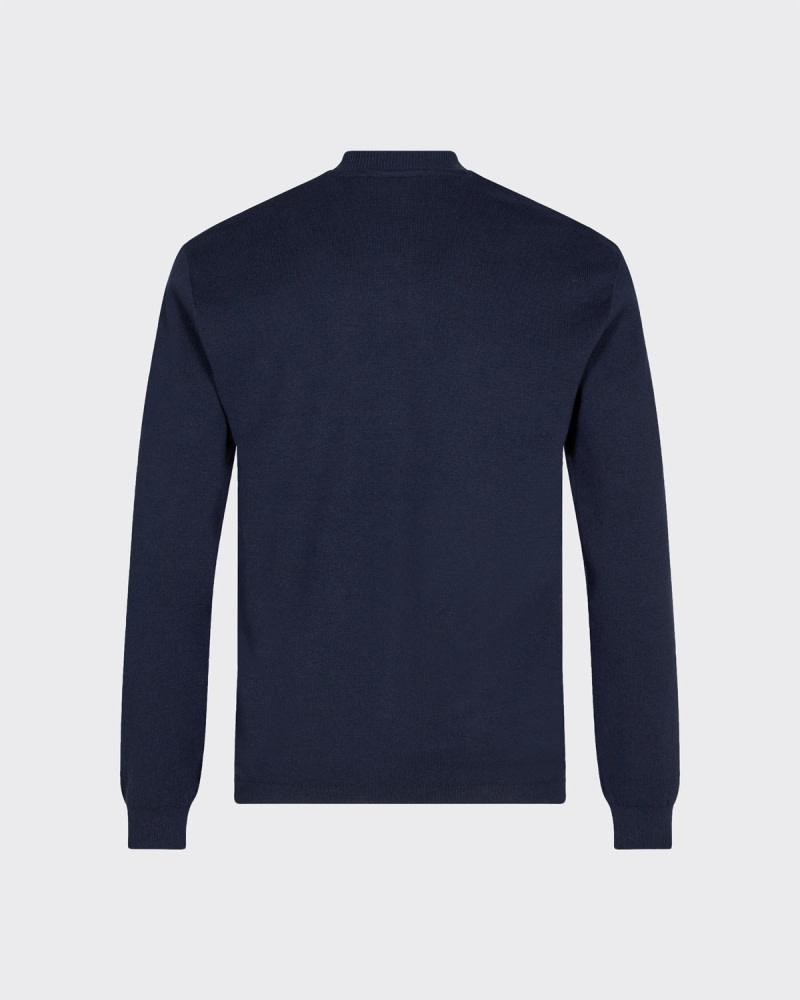 Minimum Minimum Steeno 7414 Cardigan Knit Navy Blazer