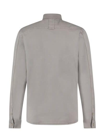 Purewhite Pure White 21010209  Denim Shirt Light Grey