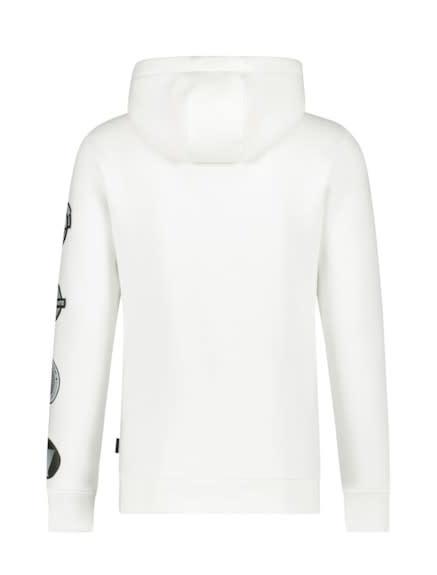 Purewhite Pure White 21010301 Hooded Sweat Off White