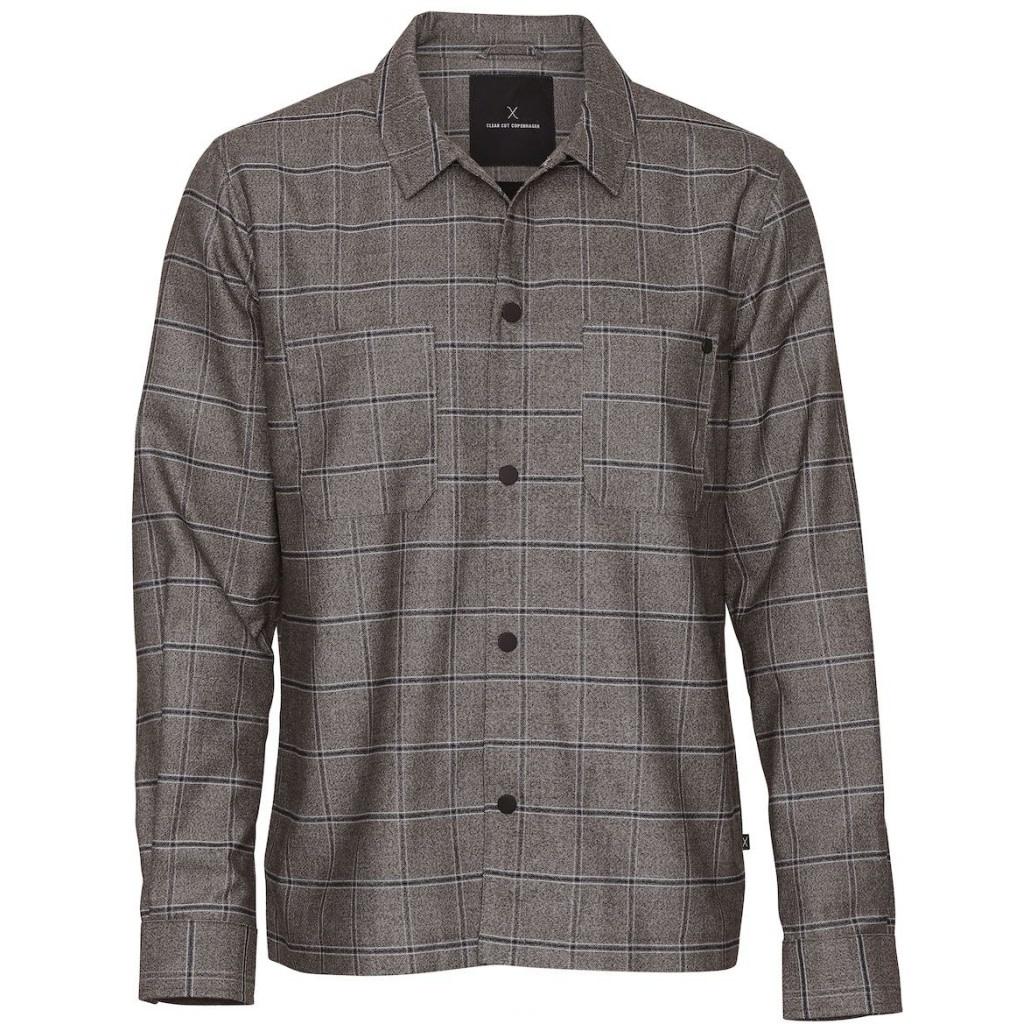 Clean Cut Clean Cut Jack Overshirt Brown Check