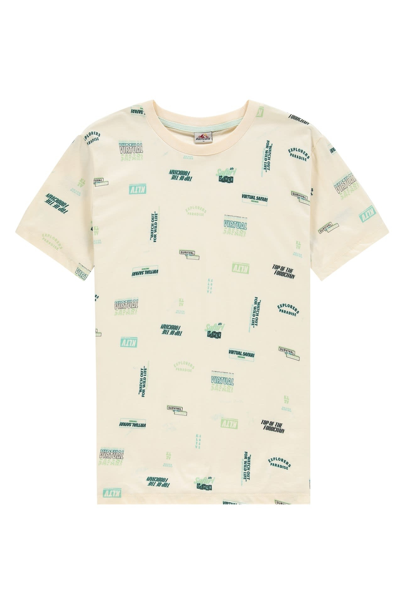Kultivate Kultivate Graphics Tee Pearled Ivory