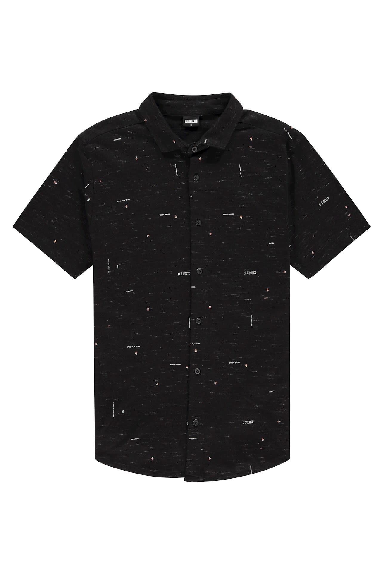 Kultivate Kultivate Coordinates Shirt Black