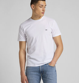 Lee Lee Patch Logo Tee White