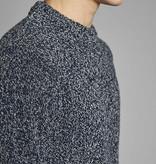 Anerkjendt Anerkjendt Akrico Crew neck knit Melange Dark Blue