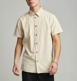 Anerkjendt Anerkjendt Akkian S/S Cord Shirt Brown Rice